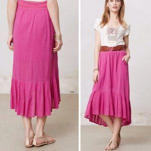 Anthropologie Edme & Esyllte Gauze Gypset Skirt